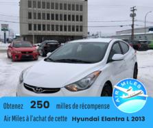 Hyundai Elantra L  2013