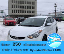 Hyundai Elantra L A/C AUX BAS KILOMÉTRAGE  2013