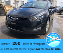 Hyundai Elantra GL Automatique Bas kilométrage Bancs chauffants  2014