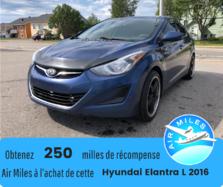 Hyundai Elantra L Black Carbon Edition Mags Manuelle  2016