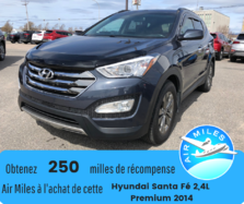 Hyundai Santa Fe Sport Premium 2,4L  AWD Bas kilométrage Mags Bluetooth V  2014