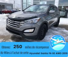 Hyundai Santa Fe Sport SE AWD Démareur à distance Pneus hiver Bas kilo BT  2016
