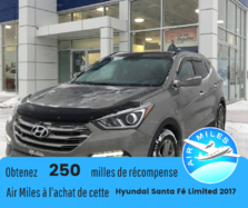 Hyundai Santa Fe Sport Limited*AWD*Cuir*GPS*Bluetooth*Toit panoramique*  2017
