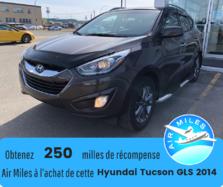 Hyundai Tucson GLS AWD Pneus hiver Bas kilométrage Toit ouvrant  2014