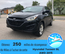 Hyundai Tucson GL Bas kilométrage Bluetooth Garantie Vehicule cer  2015