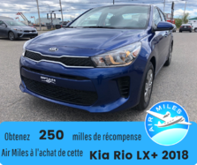 2018 Kia Rio LX + Bas kilométrage encore sous garantie complet
