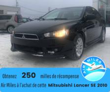 Mitsubishi Lancer SE*Pneus hiver*Toit panoramique*Sièges chauffants*  2010