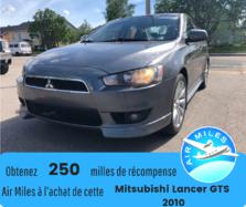 Mitsubishi Lancer GTS Automatique Mags Propre Bluetooth Bancs chauff  2010