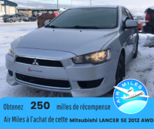 Mitsubishi Lancer SE AWD BAS KILOMETRAGE BANCS CHAUFFANTS BLUETOOTH  2012