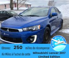 Mitsubishi Lancer LIMITED EDITION  2017