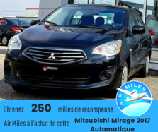 Mitsubishi MIRAGE G4 ES Manuelle Bas kilométrage A/C GARANTIE  2017
