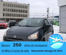 Mitsubishi Mirage ES  2014