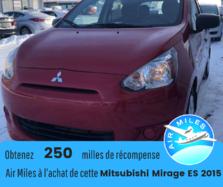 Mitsubishi Mirage ES *AUTOMATIQUE*HATCHBACK*4PORTES  2015