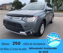 Mitsubishi Outlander SE AWD 7 passagers Bas kilométrage Garantie  2015