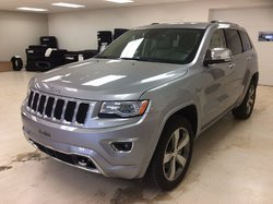 2016 Jeep Grand Cherokee Overland 4X4 INT CUIR GPS, DIESEL
