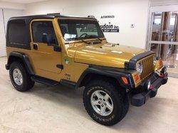 2003 Jeep TJ Sport 4X4 SPORT