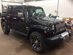 2014 Jeep Wrangler Unlimited Sahara 4X4 MANUEL 6 VITS