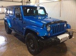 2014 Jeep Wrangler Unlimited Sahara 4x4auto, GPS,DÉMARREUR