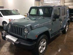 2015 Jeep Wrangler Unlimited Sahara 4X4 AUTO,ENSEMBLES 2 TOITS