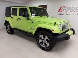 2016 Jeep Wrangler Unlimited Sahara 4X4 MANUEL 6 VITS