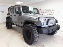 Jeep Wrangler Unlimited Sport 4X4 TOIT SOUPLE  2016