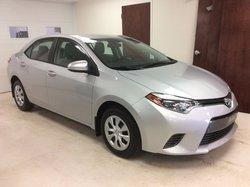 Toyota Corolla SIEGE CHAUFFANT ,BLUETOOTH, ÉCRAN 7 PO  2015