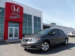 2013 Honda Civic Sdn LX 37 000km seulement !