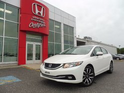 Honda Civic Sedan TOURING Gps+ cuir  2014