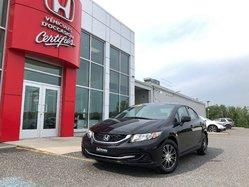 Honda Civic LX / Garantie 7 ans 160000 km  2013