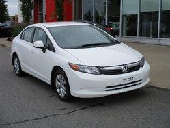 2012 Honda Civic Sdn LX  AUTOMATIQUE