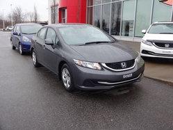 2013 Honda Civic Sdn LX MANUELLE