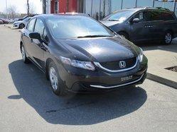 Honda Civic Sedan LX AUTOMATIQUE  2014