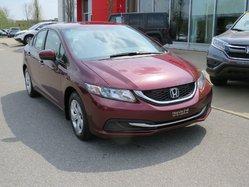 Honda Civic Sedan LX AUTOMATIQUE  2015