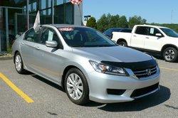 Honda Accord Sedan LX /  Honda Canada Programme certifiés 7/160k  2013