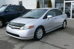 Honda Civic Sdn LX + Financement disponible ACCORD D DESJARDINS  2006