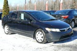 Honda Civic Sdn LX + Financement disponible ACCORD D DESJARDINS  2007