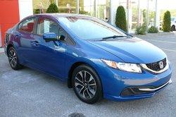 Honda Civic Sedan EX / Honda Canada Programme certifiés 7/160k  2014