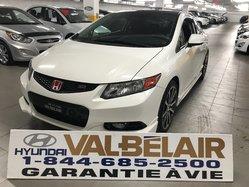 Honda Civic Cpe SI HFP BAS KILO JAMAIS VU L'HIVER  2012