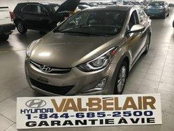 Hyundai Elantra GLS + AUTO + TOIT +BAS KILO  2014