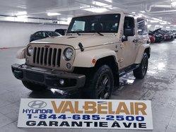 Jeep Wrangler 75TH ANNIVERSARY BAS KILO AWD 2 TOITS  2016