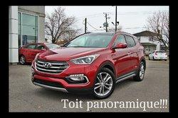 Hyundai Santa Fe Sport TURBO, CUIR , TOIT PANO ET CAMERA RECUL  2017
