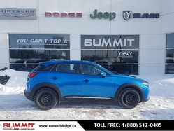 2016 Mazda CX-3 GT!AWD!LEATHER!ROOF!