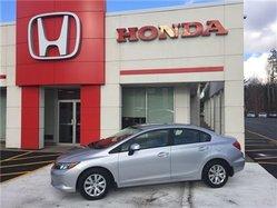 2012 Honda Civic LX auto 4dr Sedan only $119/biweekly,o.a.c!