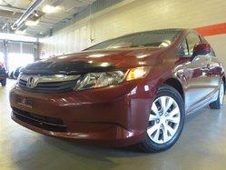 Honda Civic Sedan LX seulement 77 843 KM!  2012