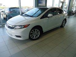 2012 Honda Civic Sdn EX * AUTOM * 0 ACCIDENT * TRES BAS KILOS !!!!!!!!!