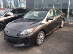 2012 Mazda 3 Sport GS-SKY * 0 ACCIDENT * TRÈS BELLE * AUBAINE !!!