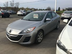 2010 Mazda Mazda3 GX * A/C * 0 ACCIDENT * 1 PROPRIO * AUBAINE !!!