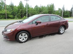 2014 Honda Civic $102 B/W TAX INC.