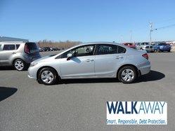 2015 Honda Civic LX $126 BI-WEEKLY
