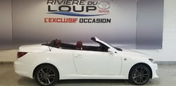 Lexus IS 250C SÉRIE F SPORT CONVERTIBLE  2015